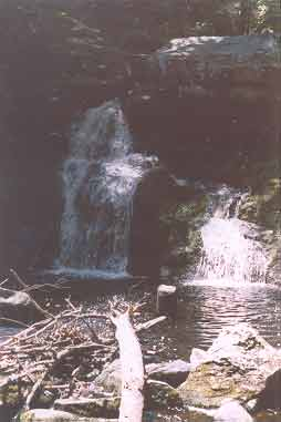 The most downstream of Enders Falls.